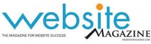 website magazine logo